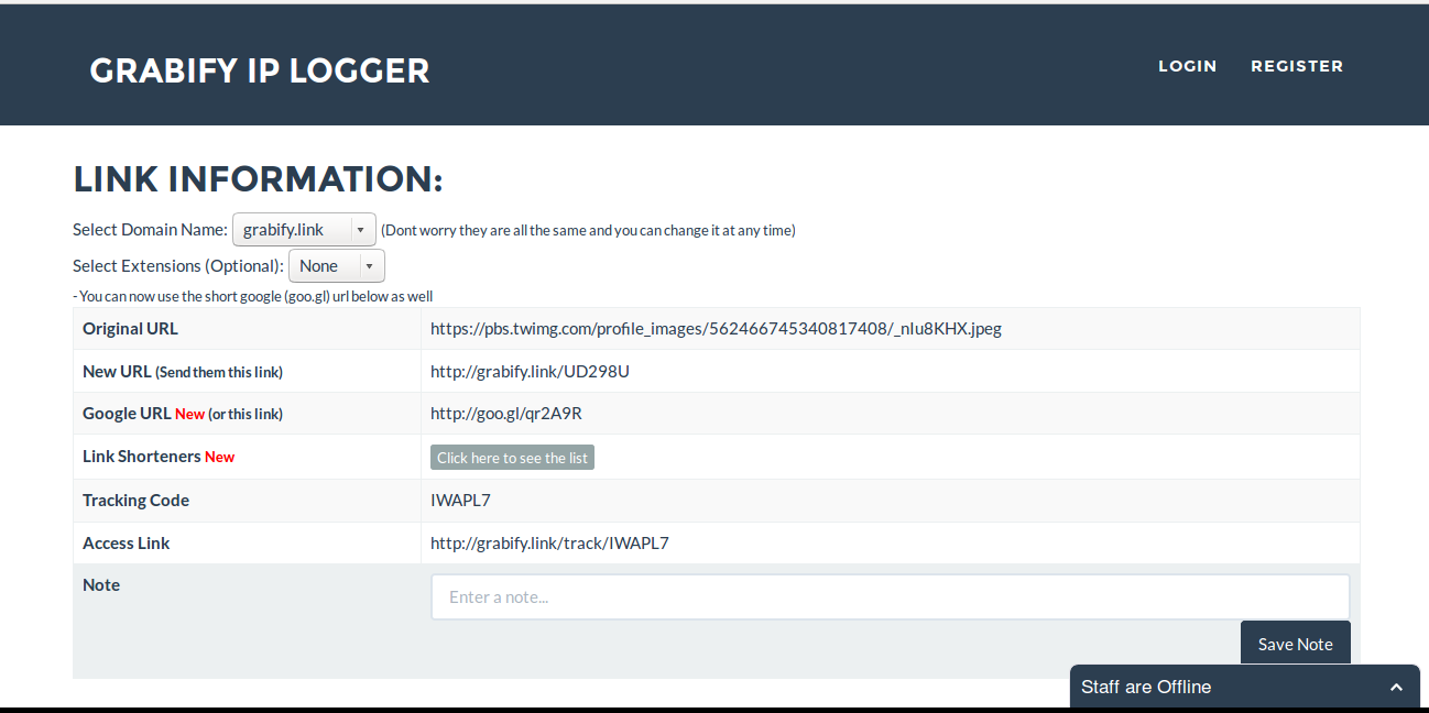 IP Logger: Find someone IP address with Grabify